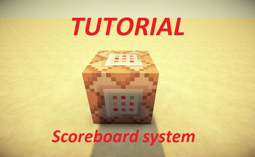 Tutorial Scoreboard System Minecraft Project
