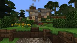 Tripfillie's Logless Livable Cottage! Minecraft Map & Project