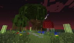 Swamp Treehouse Minecraft Map & Project