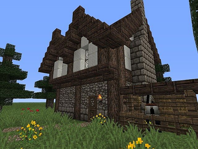 2013 07 26 195026 6075826 - 16+ Small Modern House Design In Minecraft PNG