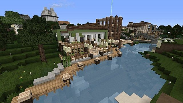 how to build a minecraft coffee shop