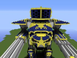 Warhammer 40K/Dawn of war: Reaver Battle Titan Minecraft Map & Project