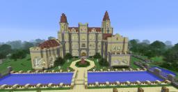Romantic Castle Minecraft Map & Project