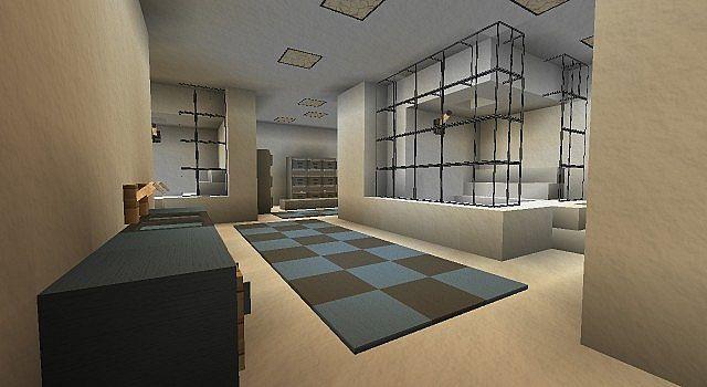 Ymca modern city gym pool minecraft project