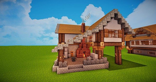 Medieval Forge/Blacksmith Minecraft Project