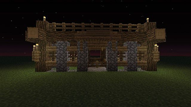 Starter Stable Design Minecraft Project