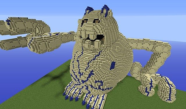 Naruto Shukaku One Tailed Minecraft Project