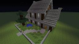 Medieval Medium sized house Minecraft