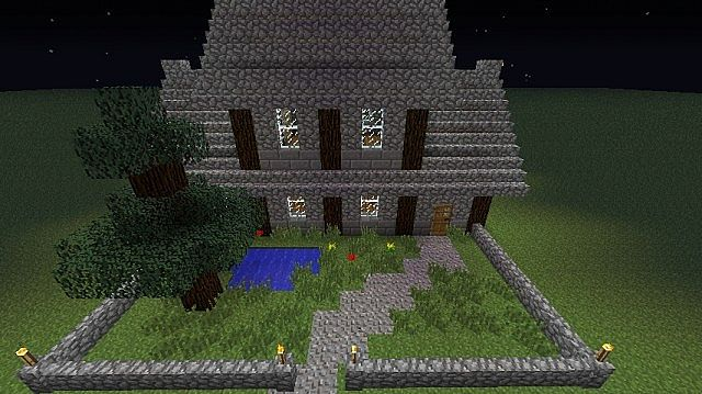 medieval medium sized house minecraft project