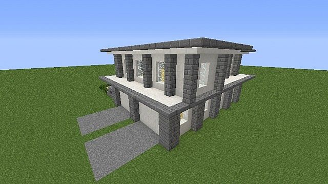 Minecraft Quartz House Designs Minecraft DIY Home Plans Database