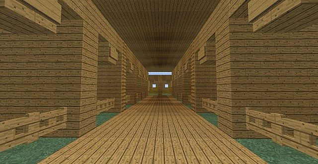 how to make a cool horse stable in minecraft