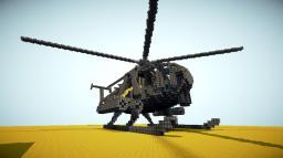 AH-6J LittleBird Helicopter Minecraft