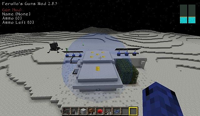 Galacticraft: Compact Moon Base Minecraft Project