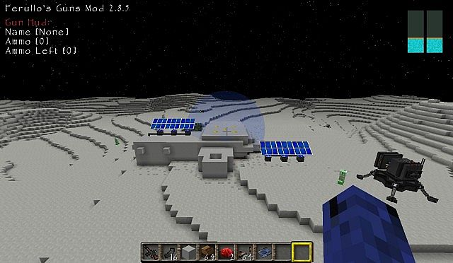 Galacticraft Compact Moon Base Minecraft Project
