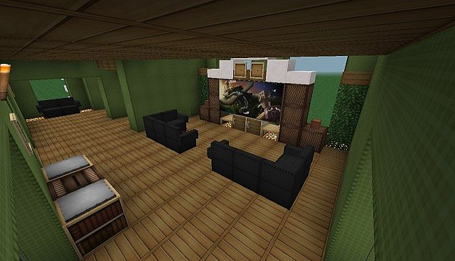 Modern House Mod Furniture Mod Minecraft Project