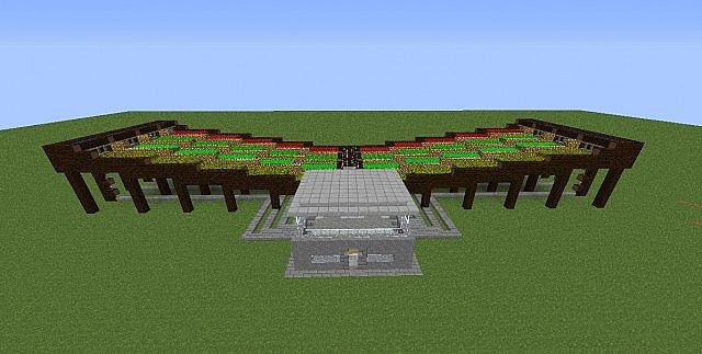 Semi Auto Farm Minecraft Project
