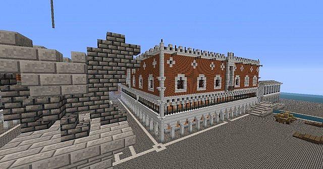 Venice Buildings Minecraft