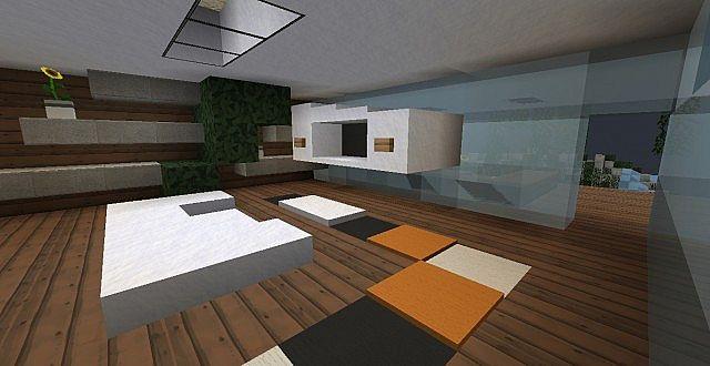 Minimalist vanish luxury home minecraft project for Minimalist luxury house