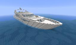 White Pearl (Sunseeker 40m Yacht) Minecraft Project