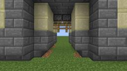 Working Castle Gates Minecraft Map & Project