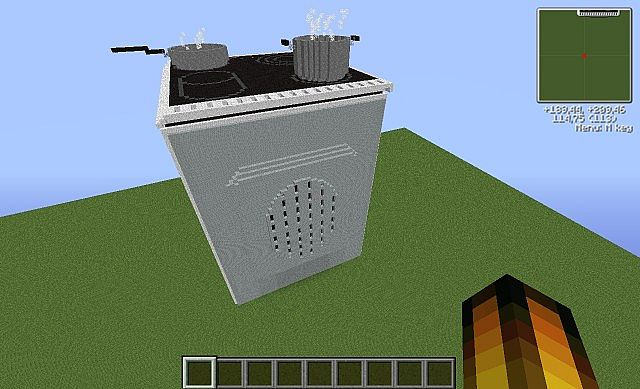 how to build a stove in minecraft