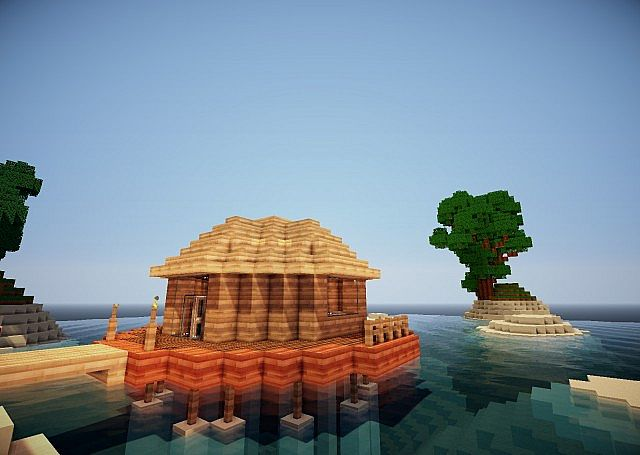 Maldivian Sea Bungalow Luxurious Builds 1 Minecraft Project