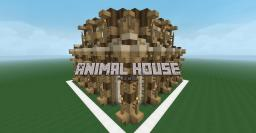 Farmer Animal House Design (Detailed) Minecraft Map & Project