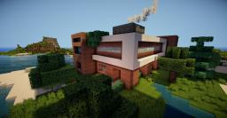 Modern Beach House By ZYXW Minecraft Map & Project