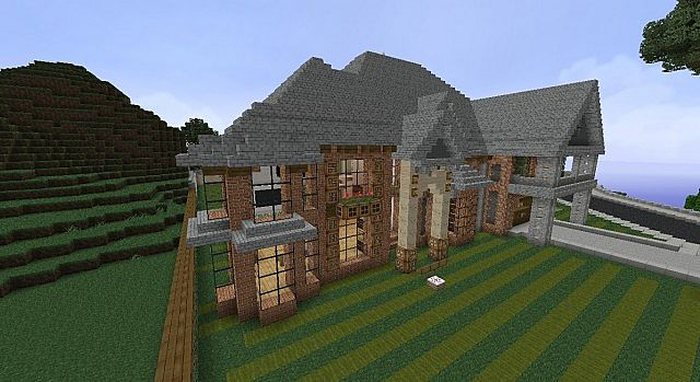 squizzy victorian style mansion minecraft project
