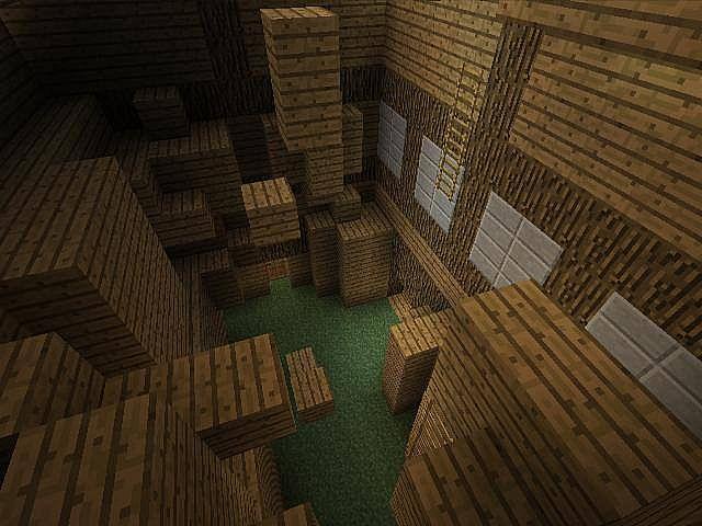 inside a house parkour