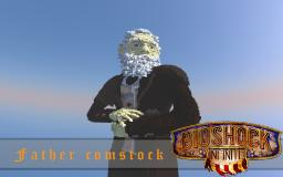 Part 1/4 Bioshock infinite: Zachary Hale Comstock Minecraft Map & Project