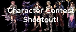 Character Contest Winner Shoutout Minecraft