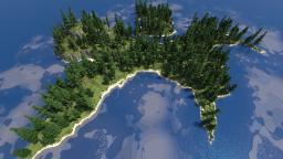Uh... Chicken-Foot Island? Minecraft