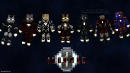 Iron Man 3 Minecraft Machinima Mashup series! (Now progressive photos!) Minecraft