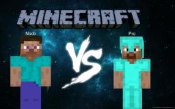 Noob VS. Pro: a Minecraft Test Minecraft Blog