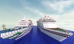 Paradise Voyager And Canadian North Star Minecraft Map & Project