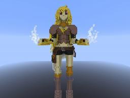 RWBY Yang in Minecraft Minecraft Project