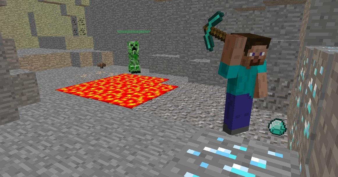 A Minecraft Story (Mining) Minecraft Blog