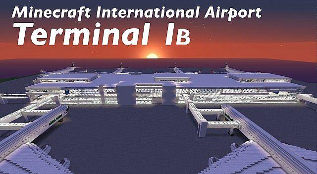 Скачать карту Аэропорт для Minecraft