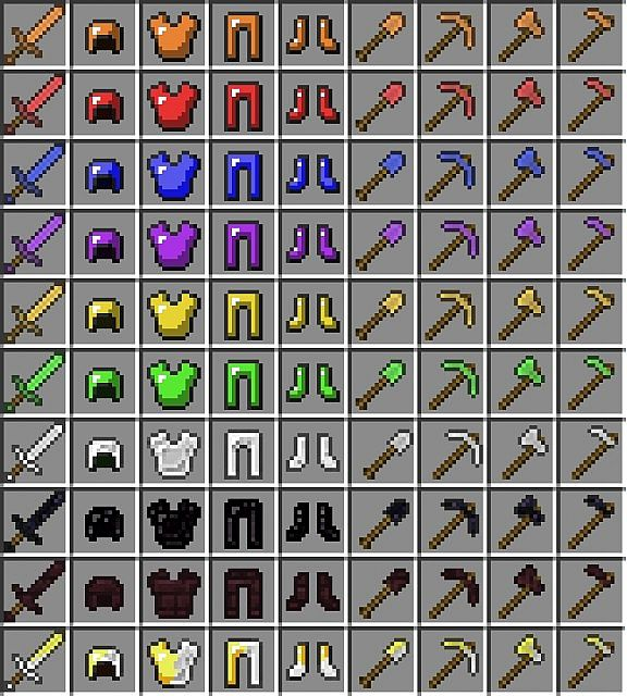 Swords, Armor and Tools