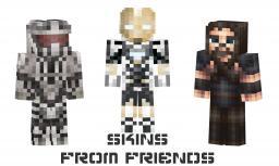 Skins From Friends!(W.I.P) Minecraft Blog