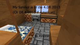 My Survival as of the 4.08.2013 Minecraft Map & Project