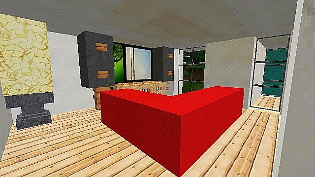 how to make a modern quartz house in minecraft