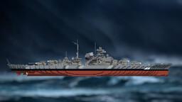 WW2 Battleship - Sinking Bismarck Minecraft Map & Project