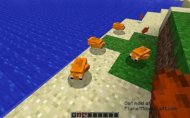 how to get fish in minecraft