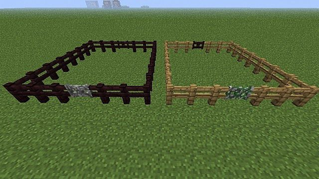 stone fence gate minecraft. 9 diamonds stone fence gate minecraft e