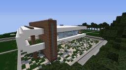 """""""Frost"""" A Modern Home By: ItsAustin23 Minecraft Map & Project"""