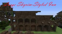 Large Skyrim-Styled Inn Minecraft