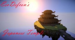 Japanese Temple Minecraft Map & Project