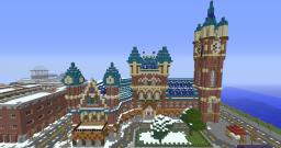 Harry Potter in Downtown London Minecraft Project